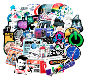 Lab-Science-Sticker-Bomb-Pack-Lot-Funny-Chemistry-Laptop-Luggage-Car-Decals-Gift