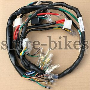 reproduction wiring loom harness for honda cb750 four k6 1976 32100 image is loading reproduction wiring loom harness for honda cb750 four