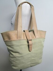 Stupendous Details About Vintage Ll Bean Heavy Canvas Leather Tote Weekender Carry On Bag Towel Beach Unemploymentrelief Wooden Chair Designs For Living Room Unemploymentrelieforg