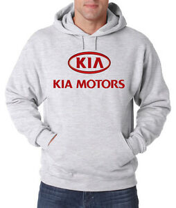KIA-coches-SUV-camiones-Nuevo-Para-Hombre-Con-Capucha-Fruit-Of-The-Loom-de-impresion-de-Epson