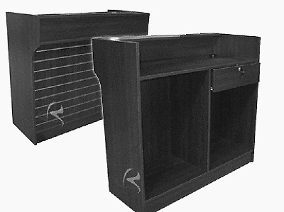 Register Stand Showcase Display Cabinet Counter LTCSW4B