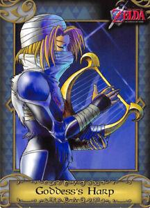 Legend of Zelda The 2016 Enterplay Trading Card 13 Goddess's Harp