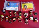 a collection of diffrent dennis the menace and beano stud pin badges charity