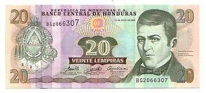 Honduras-20-lempiras-2006-FDS-UNC-pick-93-a-lotto-3733
