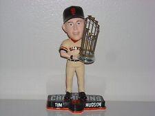TIM HUDSON San Francisco Giants Bobble Head 2014 WS Champs Trophy MLB New NIB**