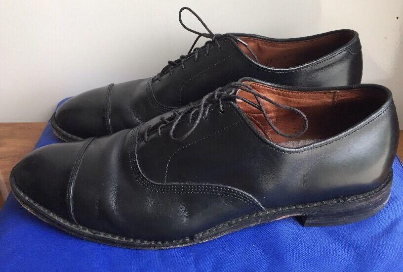 Allen Edmonds 'Park Avenue' Oxford Black Size 11D  395