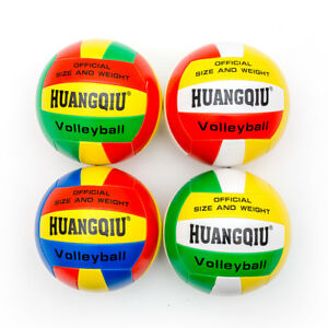 Beach-Volleyball-Official-Size-Weight-Synthetic-Leather-Volleyball