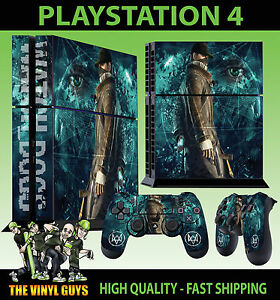 PS4-Skin-Watch-Dogs-Dedsec-Aiden-Pearce-Sticker-Controller-Decals-Standing