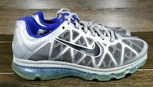 Nike Air Max 2011 GS Grey Drenched Blue