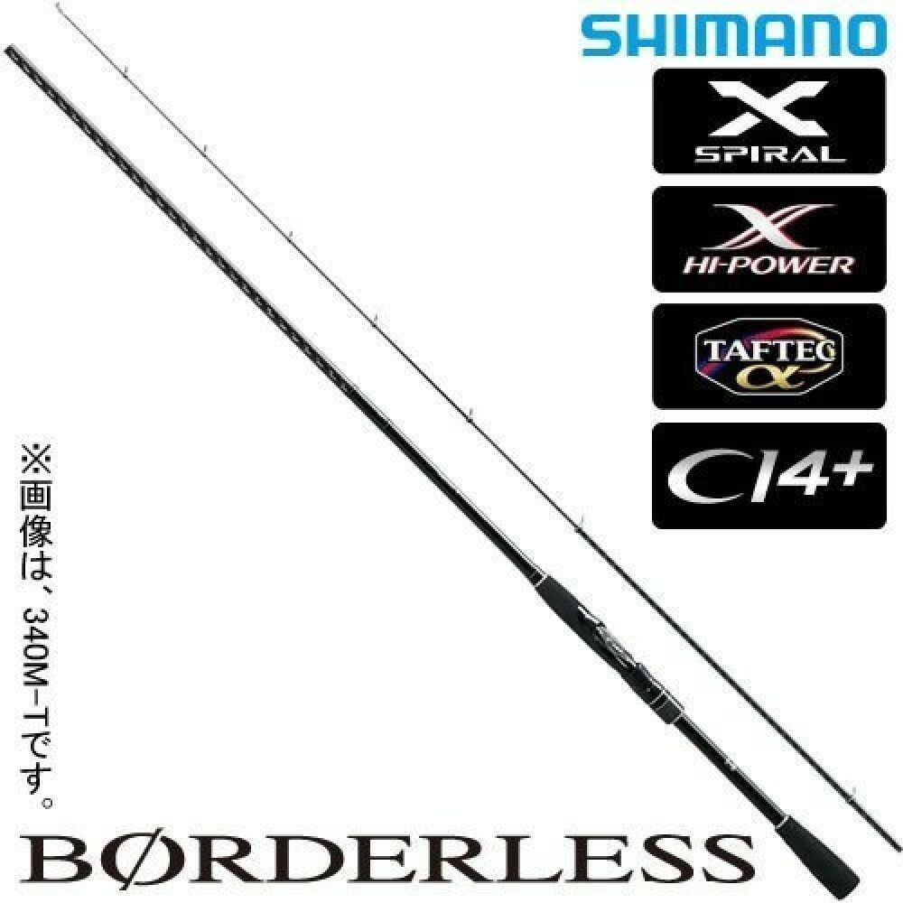 Shimano Spinning rod Borderless iso length  3 m from japan