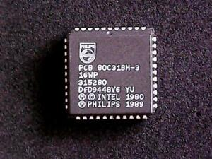 PCB80C31BH3-16WP-Philips-Microcontroller-PLCC-44