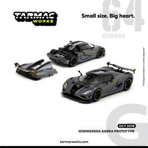 TW-Tarmac-Works-1-64-Koenigsegg-AGERA-PROTOTYPE-Diecast-Car-Model-NEW-IN-BOX