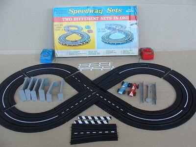 Redelijk Autopista Marx Slotcar Speedway Sets Battery Operated Old Toys Zorgvuldig Geselecteerde Materialen