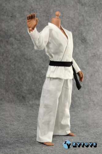 ZY Toys Men/'s White Judo Suit 1//6 Fit for 12inch action figure