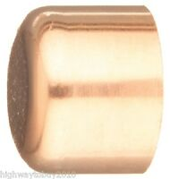 (100) Ea Elkhart Products 30632 1 Wrot Copper Pipe Cap / Fittings