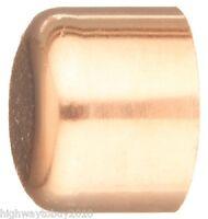 (25) Ea 30626 1/2 Wrot Copper Pipe Cap / Fittings