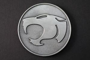 THE-THUNDERCATS-Logo-Belt-Buckle-Grey-Gun-Metal