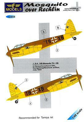 LF Models Decals 1/48 DE HAVILLAND MOSQUITO IVB Captured German Markings