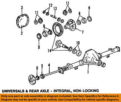 FORD OEM Rear-Axle Seals 5L3Z1S177AB