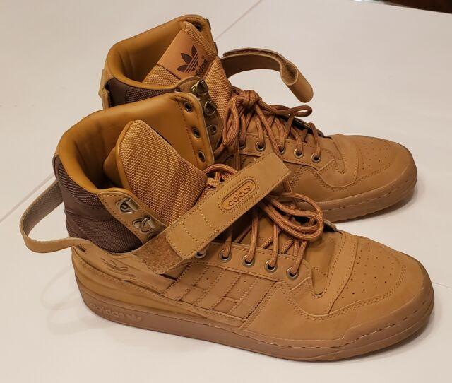Adidas Originals Forum HI OG AQ5519 GumBrown Men's Athletic Shoes SZ 10.5