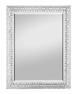 barock spiegel elena weiss 55x70 wandspiegel barockspiegel antik wohn topping24 ebay. Black Bedroom Furniture Sets. Home Design Ideas