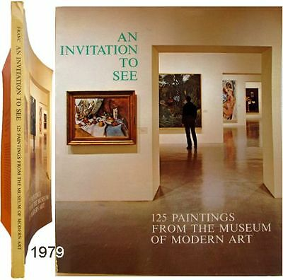 Genereus An Invitation To See 125 Paintings From Museum Of Modern Art 1979 Helen Franc