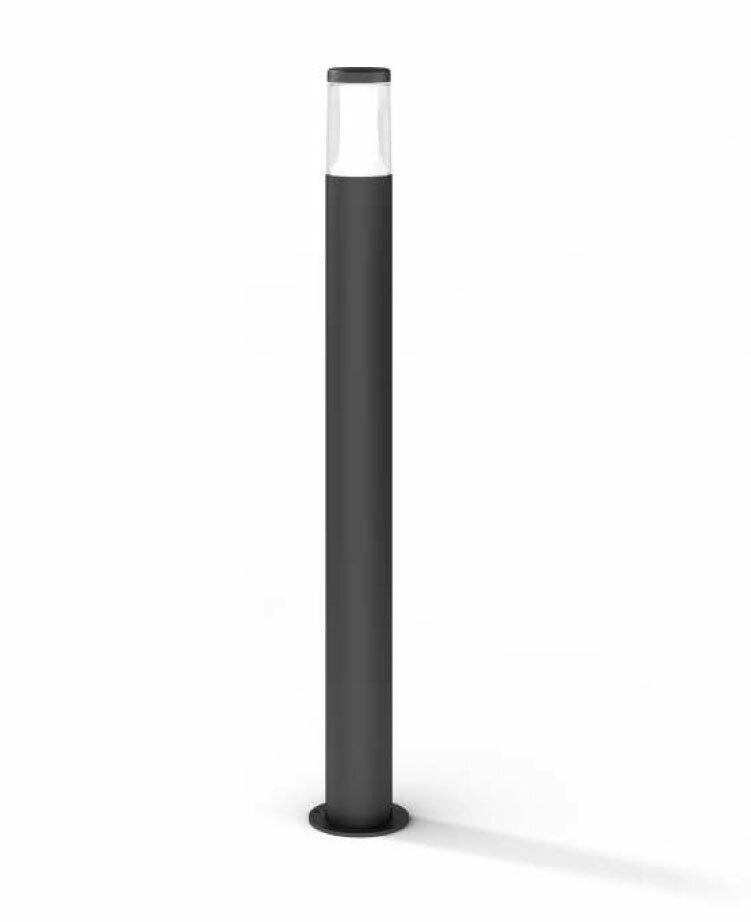 Lámpara de camino guiado Leano 90cm gris oscuro 8W 3000K IK08 10810