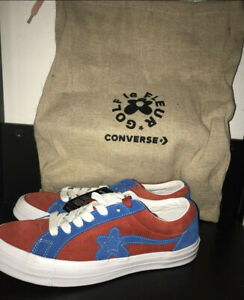 Converse One Star Ox Tyler The Creator Golf Le Fleur Red Blue Ebay