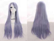 W-04-BC42 hell blau lia purple 80cm hitzefest Wig Perruque Perrücke Anime Manga