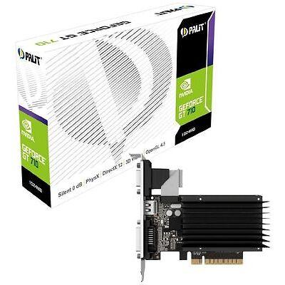 Palit NVIDIA GeForce GT 710 Silent Passive Cooler 1 GB DDR3 PCI Express 2.0 Grap