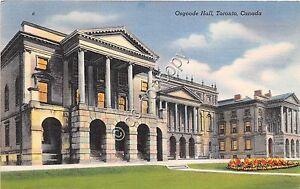 Cartolina-Postcard-Illustrata-Toronto-Osgoode-Hall