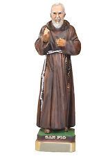 Saint Padre Pio resin statue cm. 30