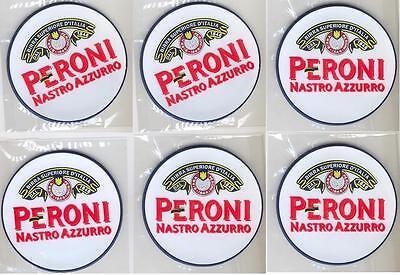 Beermats Unused 2 Peroni Nastro Azzuro Italian Lager Beer Mats Set Coasters