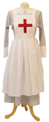 PLUS VICTORIAN//HISTORICAL//1940/'S//WARTIME Grey Nurses Uniform /& apron sizes 10