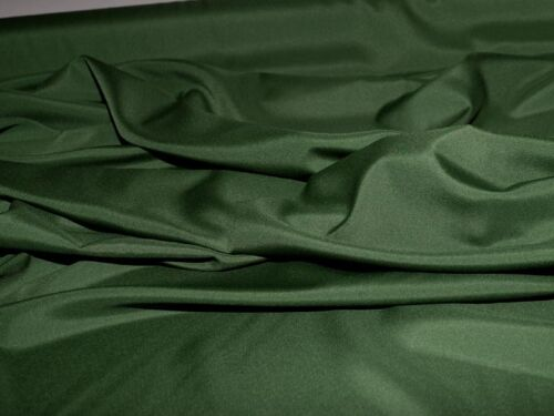"""PONGEE LINING FABRIC HUNTER GREEN 60/"""" WIDE BLOUSES DRESSES HOME DECOR"""