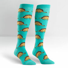 Sock It To Me Women's Funky Knee High Socks - Tacosaurus