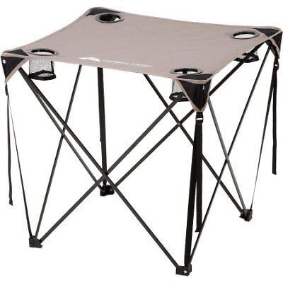 Ozark Trail Quad Table Grey W 817427012277 Ebay
