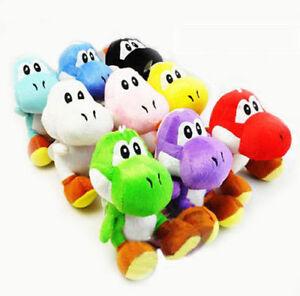 New Super Mario Bros Soft Plush Doll Cute Yoshi Toy 7in Kids Xmas ... ec525e2e83b3
