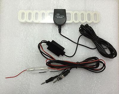 Car Analog TV Radio Black Shark Antenna sensitive VHF UHF FM high-gain conductor