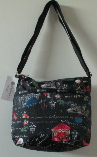 c71169c16cb4 LeSportsac 7562 Small Cleo Crossbody Bag Wonderland