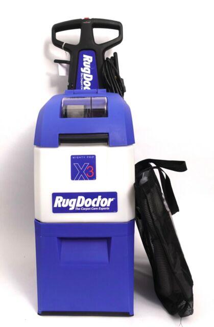 Rug Doctor Mighty Pro X3 Carpet Cleaner Machine   eBay