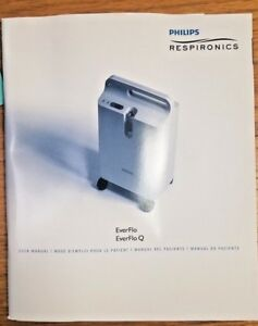 Details about Philips Respironics EverFlo & EverFlo Q Concentrator User  Manual