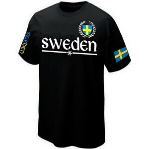 Maillot ★★★★★★ T-Shirt SWEDEN SUEDE