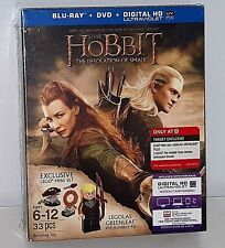 Hobbit The Desolation of Smaug Bluray DVD Target Exclusive w/ LEGO Legolas NISB