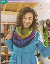Berroco Knitting Pattern Book #313 Comfort & Vintage 10 Designs for Women & Kids