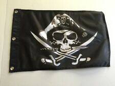 """12x18 Jolly Roger Pirate Jack Sparrow Flag 12/""""x18/"""" house banner  polyester31"""