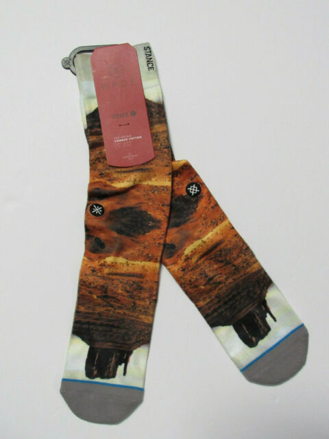 9-13 6 Pairs of Stance Mens Dwyane Wade Socks L//XL