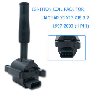 Ignition-Coil-for-JAGUAR-XJ-XJR-XJ8-3-2-4-0-1997-2003-4-PIN-TYPE-LNE1510AB