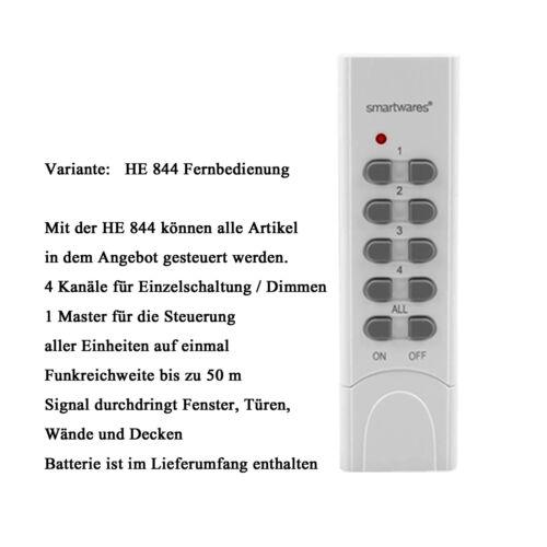 Funk Schalter Funkset Empfänger Sender Kombi Set ELRO 433,92 MHz selbstlernend