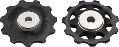 Shimano XTR RD-M980 10 Speed Upper//Lower Derailleur Pulley Set 2nd Gen Bike